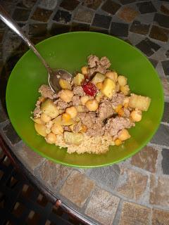 Moroccan Beef & Couscous