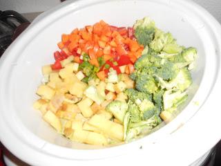 Crock Pot Veggie Stew
