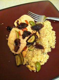 Mediterranean Chicken & Couscous