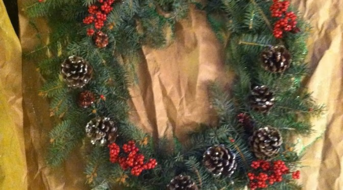 How to: Make a simple wreath for under $10