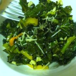 Simple sauteed power greens