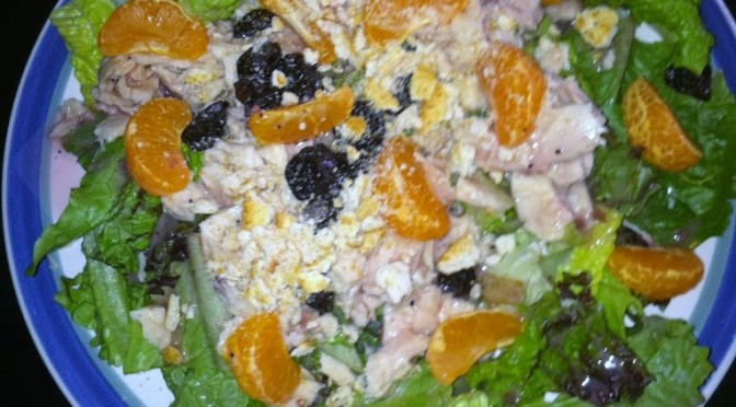 Mandarin-Cherry Tuna Salad