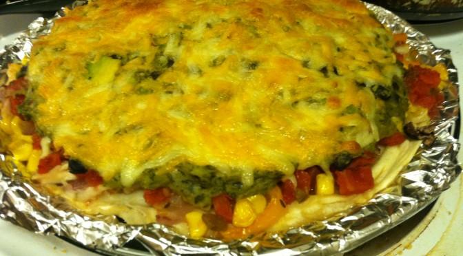 One-dish Enchilada Casserole