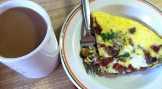 Turkey bacon frittata – SNAP Meal