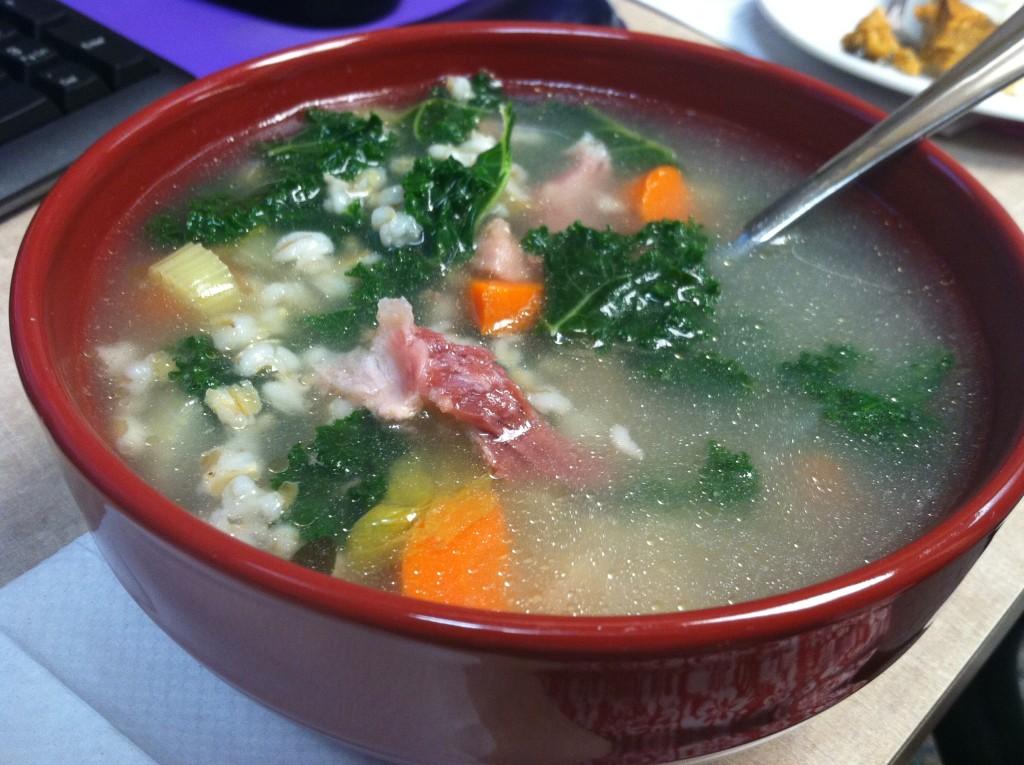 Ham & Barley Soup