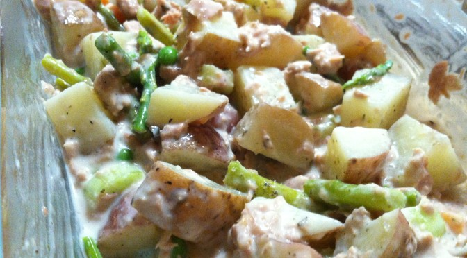 Creamy Tuna Potato Salad