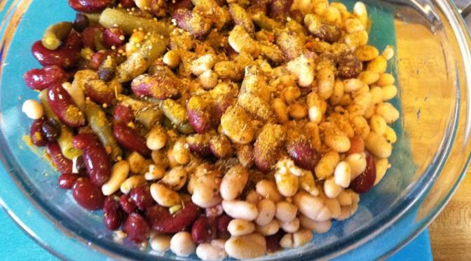 Vegan Four Bean Salad
