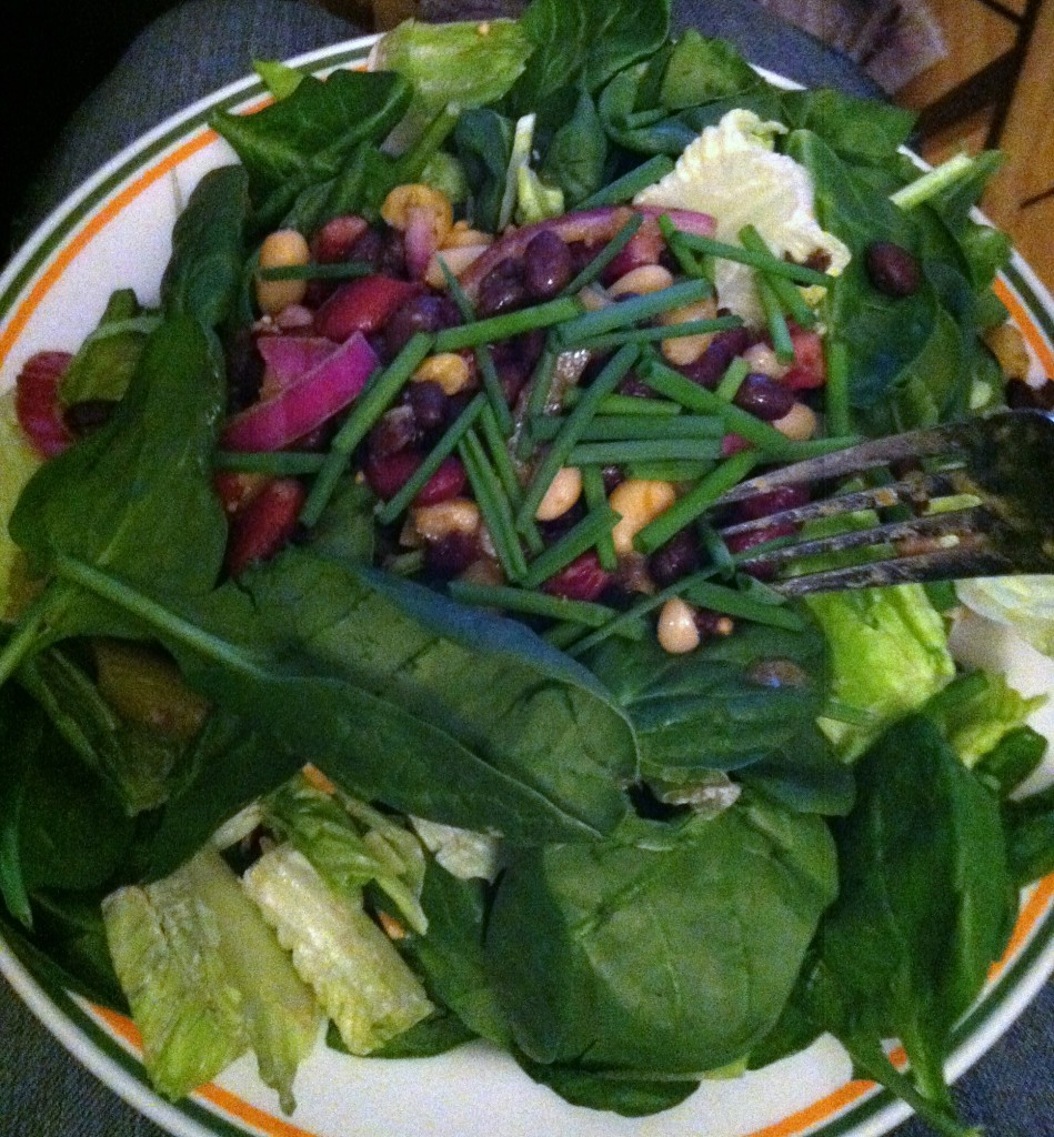 Power Greens & Beans Salad