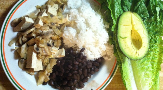 Vegan Tofu-Sauerkraut Lettuce Wraps