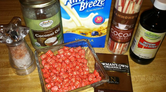 Vegan Dark Chocolate Peppermint Cocoa