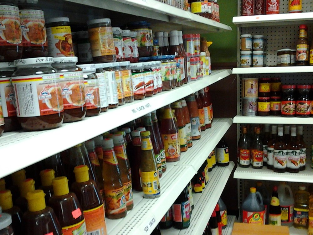 asian spices & sauces