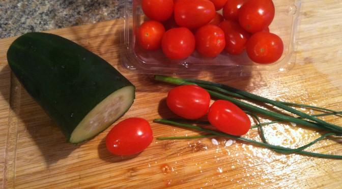 Italian Cucumbers & Tomatoes