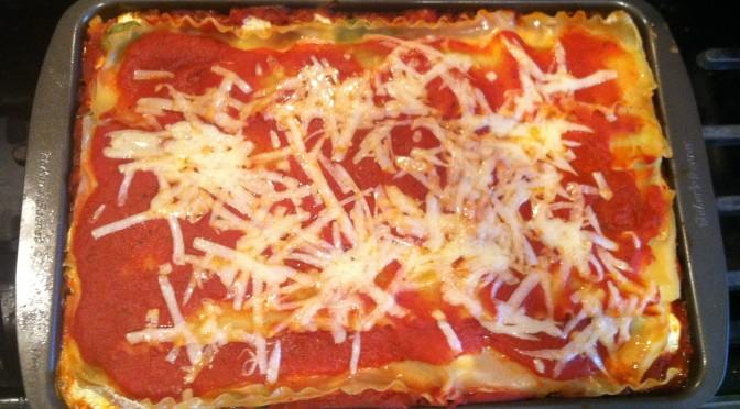 Turkey, Mushroom, & Spinach Lasagna