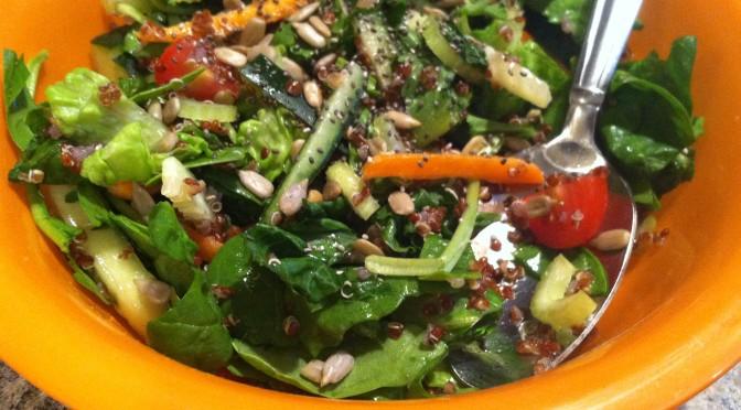 Chia, Quinoa & Greens Salad