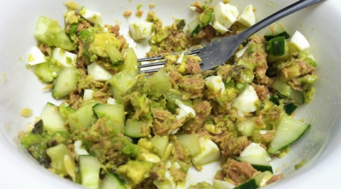 Lean Green Tuna Salad