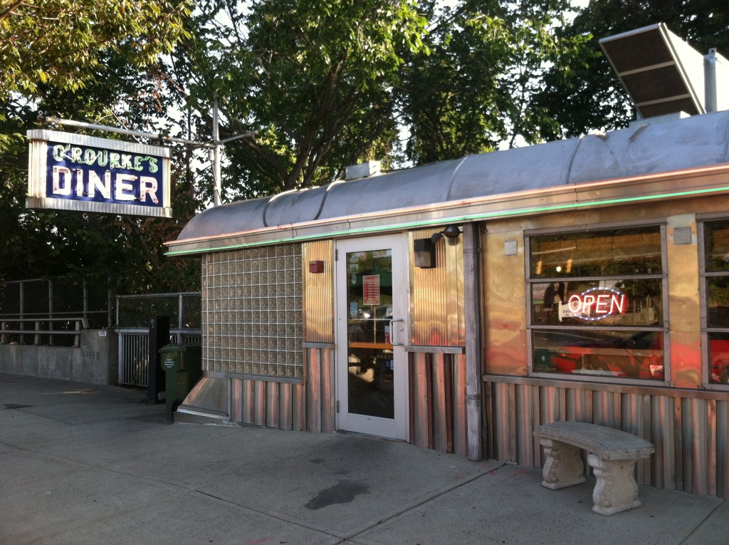 O'Rourke's Diner in Middletown CT