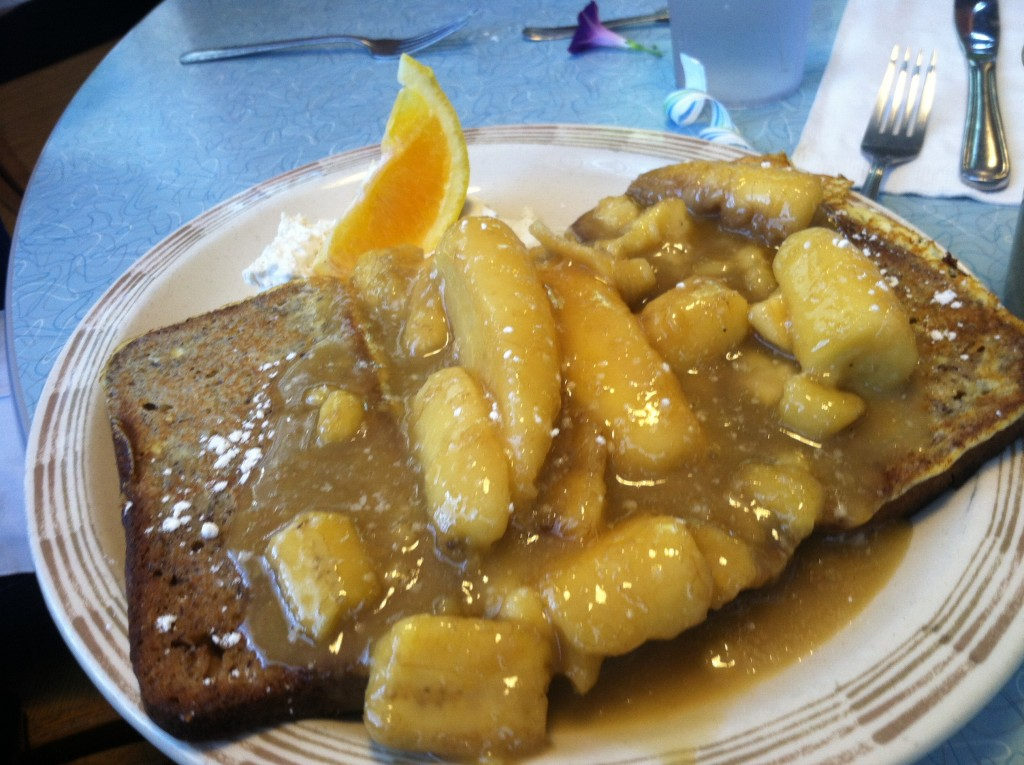 O'Rourke's diner banana french toast