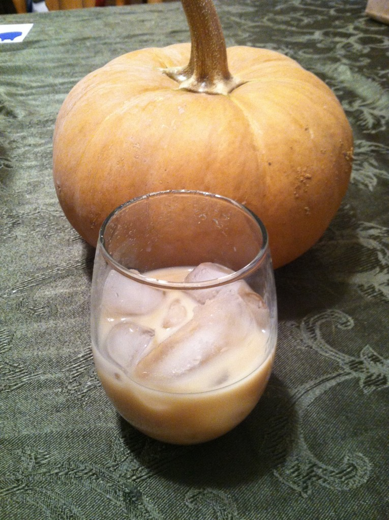 Pumpkin and Pumpkin Cheesecake Cocktail