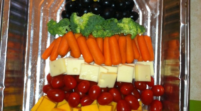 Christmas Tree Appetizer Tray