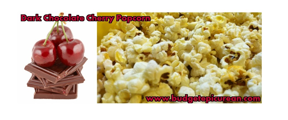 Dark Chocolate Cherry Popcorn