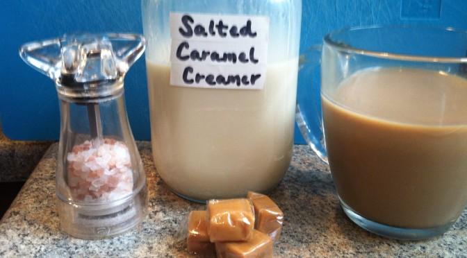 Homemade Salted Caramel Creamer