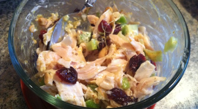 Cranberry Cashew Chicken Salad