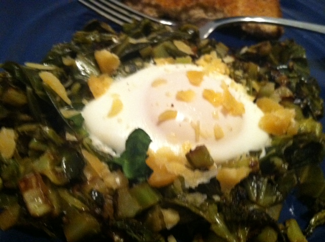 Greens and Egg