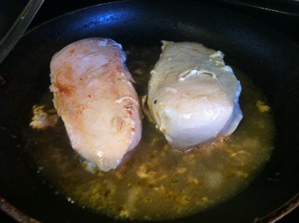 Frying Chicken Breasts