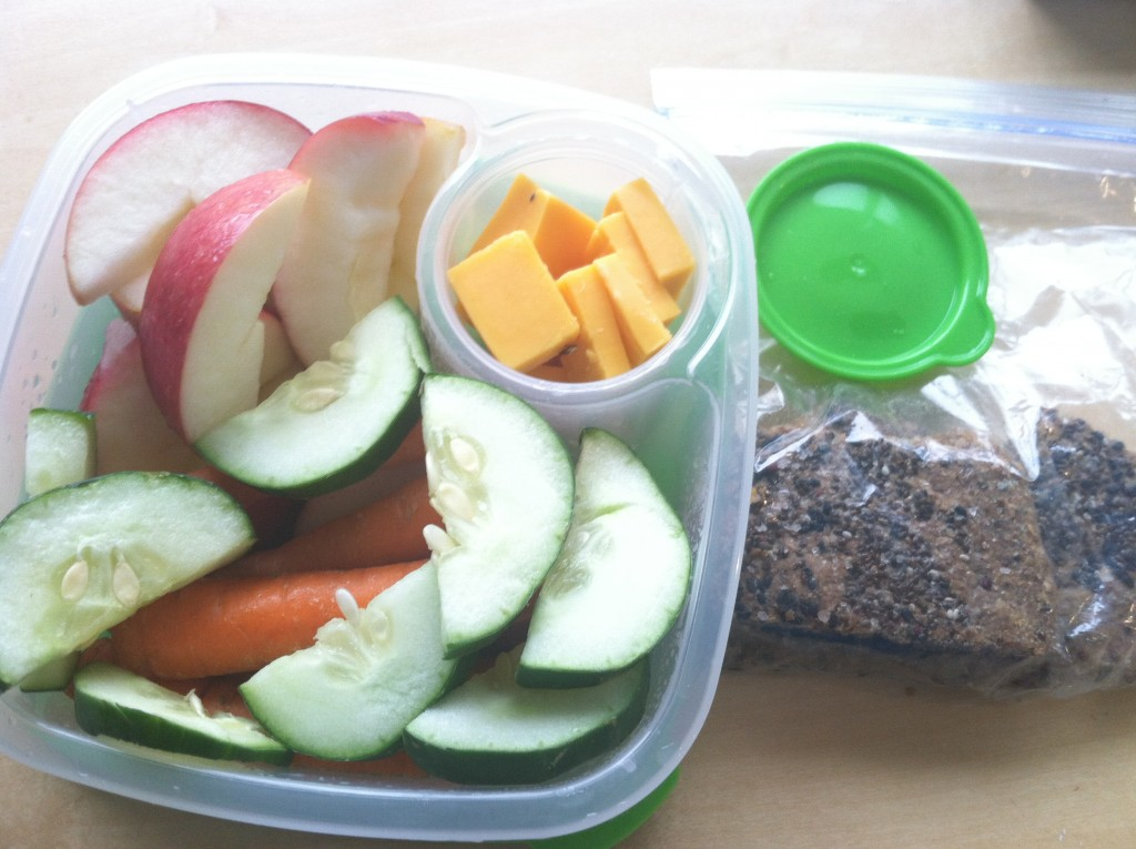 Healthy Whole Foods Lunch