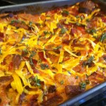 Mexican Breakfast Strata