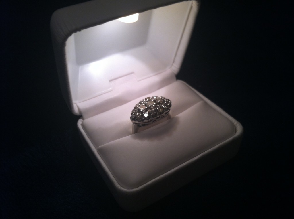 Budget Epicurean's engagement ring
