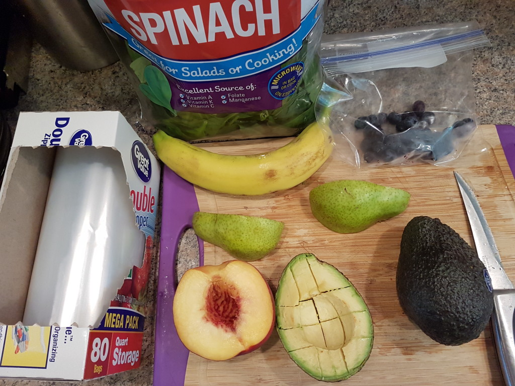 Smoothie Pack Ingredients