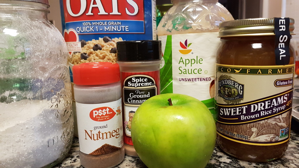 Apple Pie Bites Ingredients