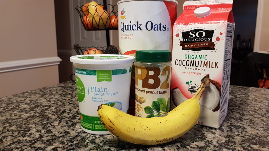 Peanut Butter Banana Power Smoothie