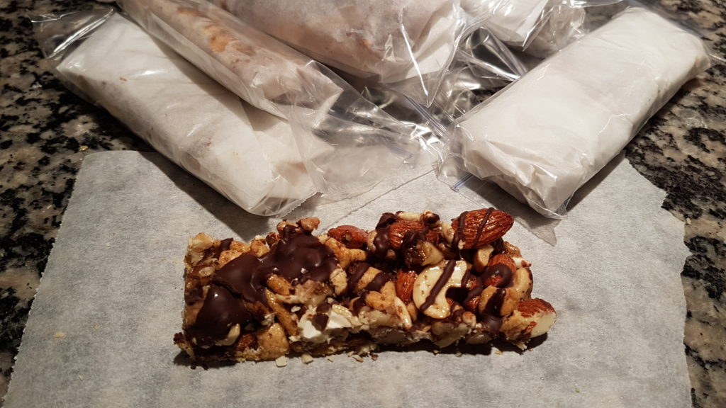 "Nuts and Dark Chocolate Sea Salt ""KIND"" Bars"