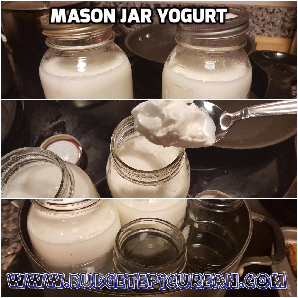 How to: Make Homemade Yogurt in Mason Jars