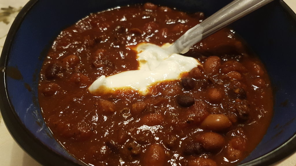 Crock Pot Chocolate Chili