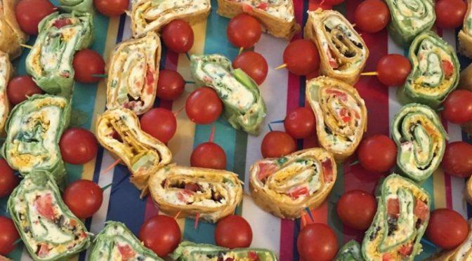 Turkey, Ham n Cheese Pinwheels
