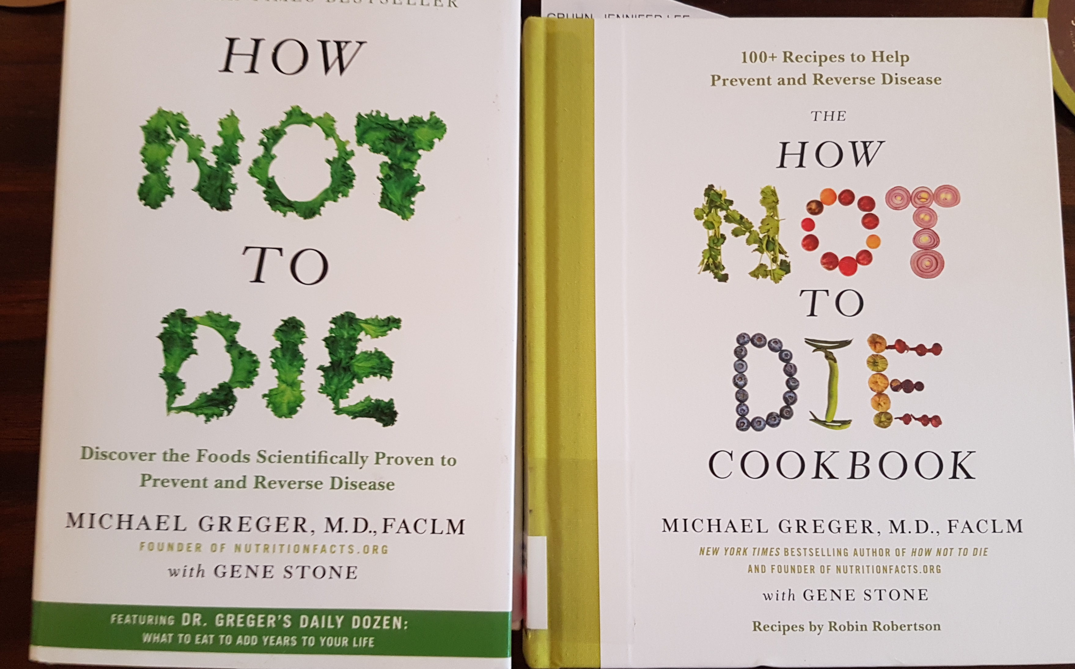 how not to die book and cookbook
