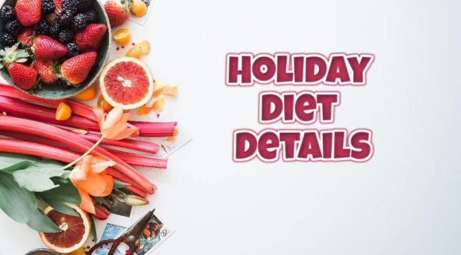 Holiday Diet Details: Results