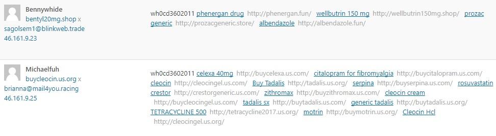 link spam