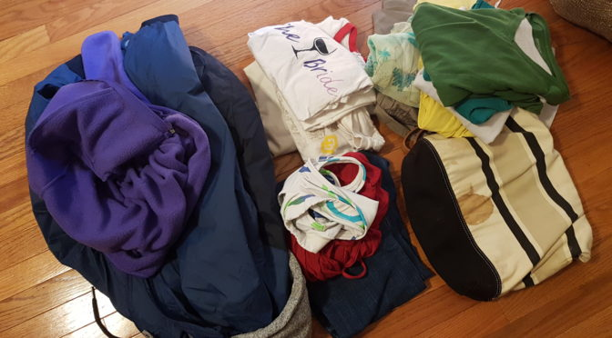 Spring Cleaning: Decluttering Clothing