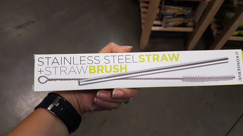 budget epicurean steel straw