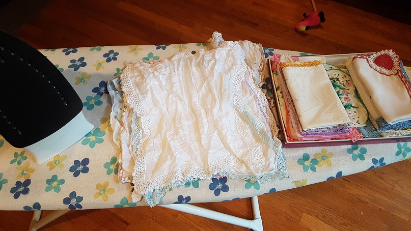 budget epicurean ironing handkerchiefs
