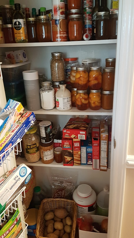 budget epicurean pantry