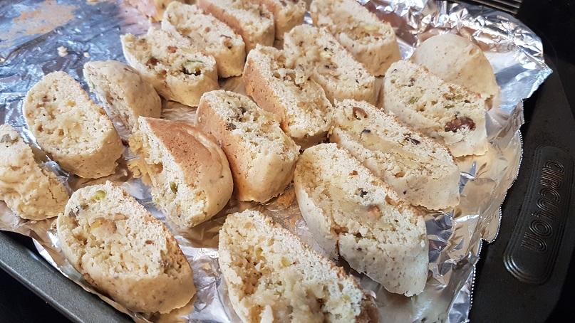 budget epicurean pistachio cardamom biscotti