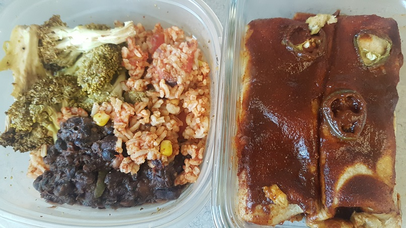 budget epicurean leftover enchiladas