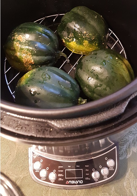 acorn squash in pressure cooker
