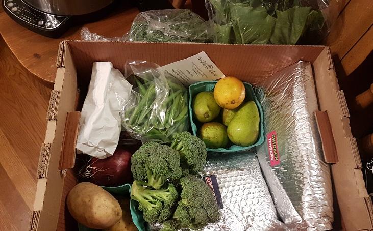 fall produce box