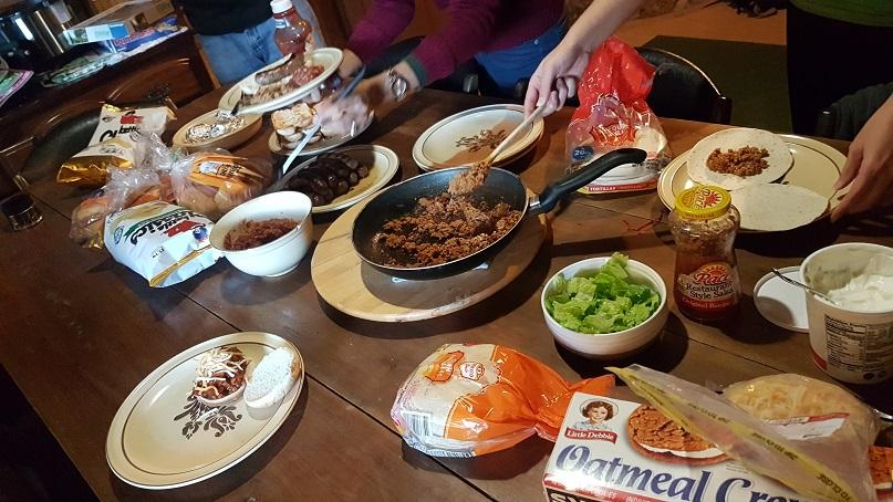 cabin food